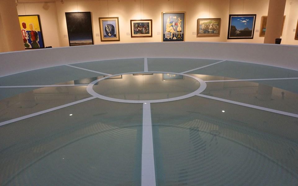 околно остъкление с огнеупорно стъкло PROMAGLAS® в галерията Недбалка в Братислава