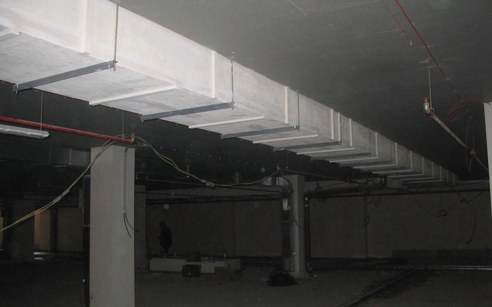 хотел Crowne Plaza Белград Защита на вентилационни системи и системи за отвеждане на дим PROMATECT®-200 пожарозащитна плоскост