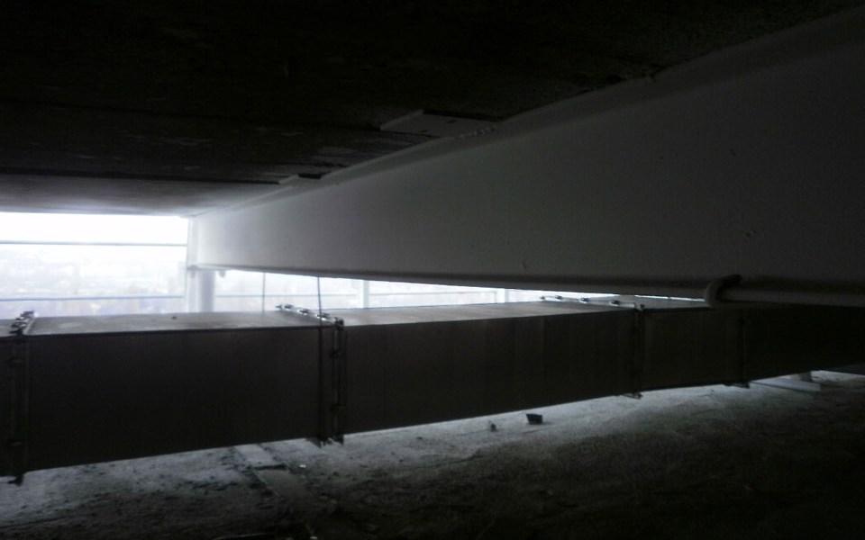 Crowne Plaza hotel Belgrad PROMATECT®-200 tubulaturi de ventilaţie şi extragere fum