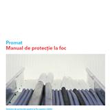 Manual Promat pentru protecție la foc cu cabluri pe copertă