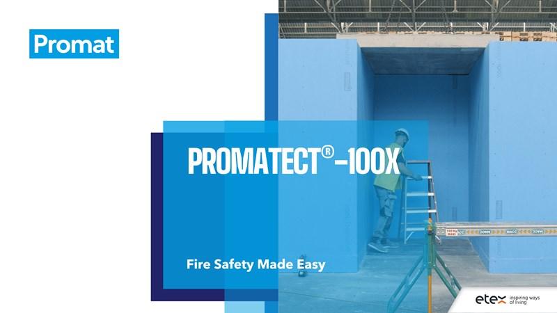 PROMATECT-100X – ugunsdrošība tagad ir vienkārša